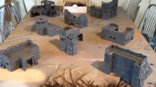 Adepticon Battlezones Buildings Showcase