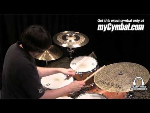 "Istanbul Agop 22"" Custom Series Turk Flat Ride Cymbal (TFR22-1050713GG)"