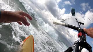 Cabrinha Drifter 2021 9m test small waves
