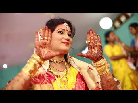 Dhanjit weds Juri   Assamese Wedding Film   NEW VISION 2018