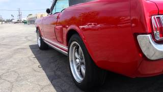 1965 FORD MUSTANG CONVERTIBLE WITH A 302 FOR SALE