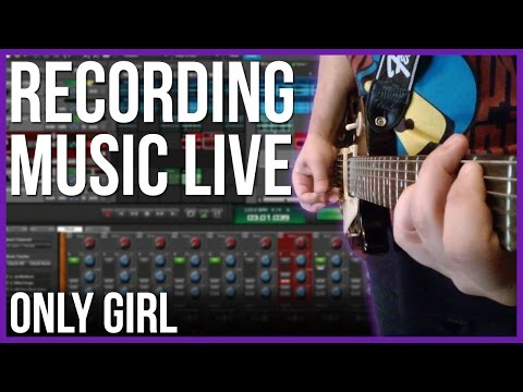 Recording bass for my Rihanna rock cover - Only Girl (In The World) + More