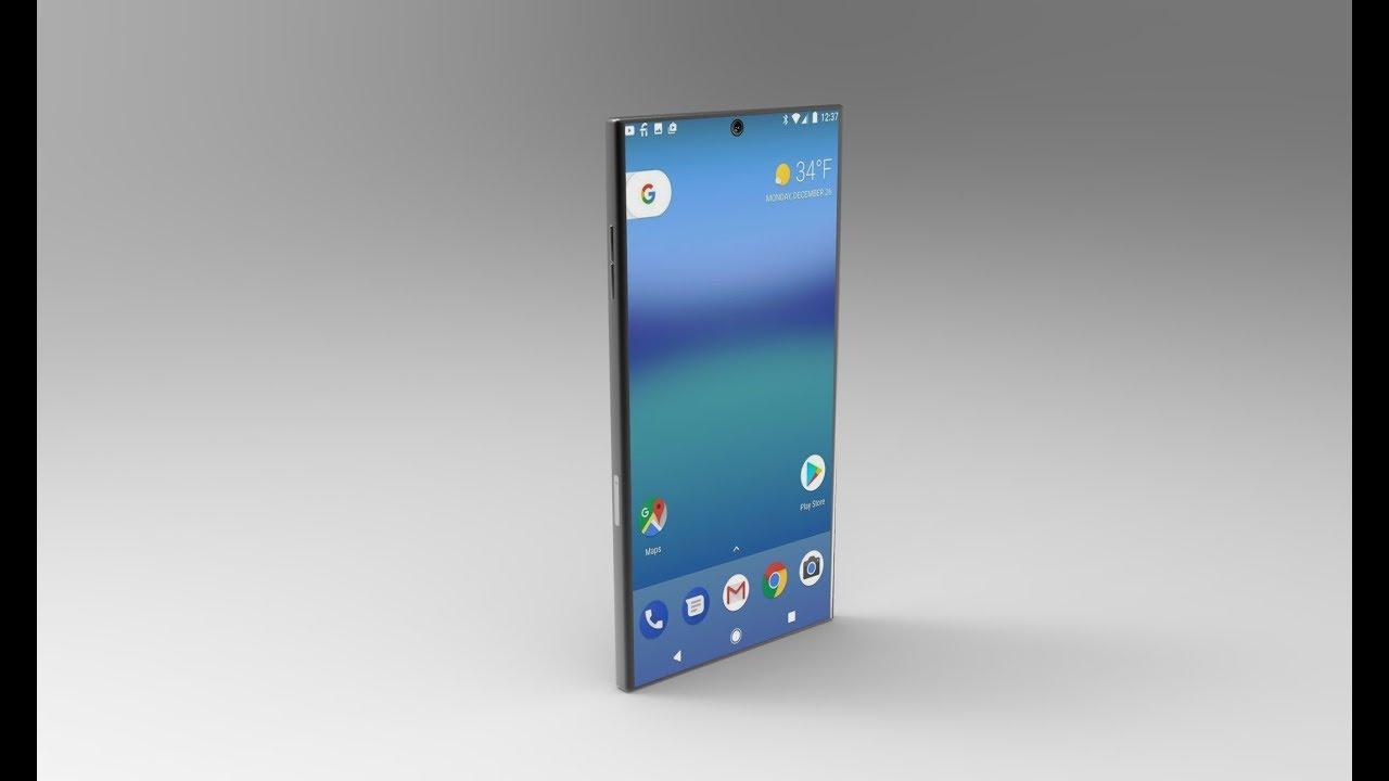 bezel-less Xperia phones