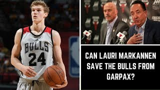 LAURI MARKKANEN: The Rookie who could SAVE the Bulls!