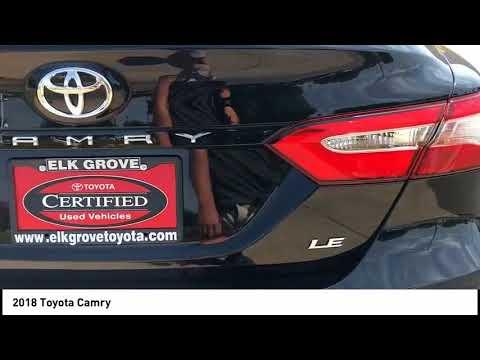 2018 Toyota Camry Elk Grove Toyota E24015