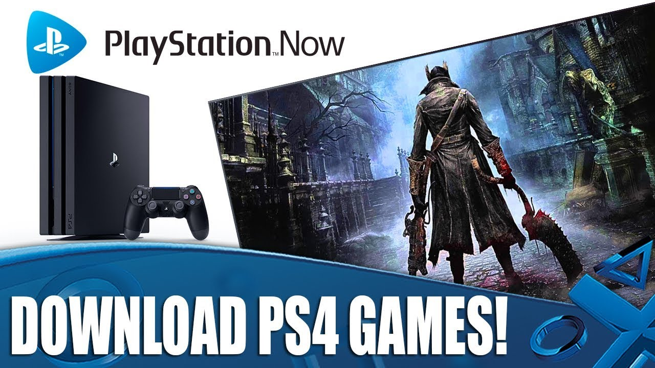 PlayStation Now - Now You Can Download PS4 Games!