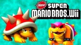Super Mario Bros Wii #2 - GIGANTE ANÃO!!!