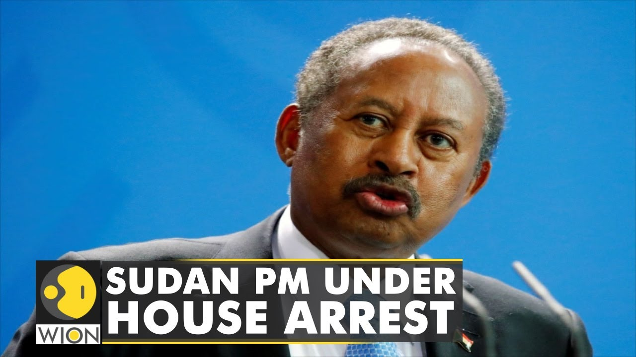Download Sudan's Prime Minister Abdallah Hamdok put under house arrest    Latest World News   English News