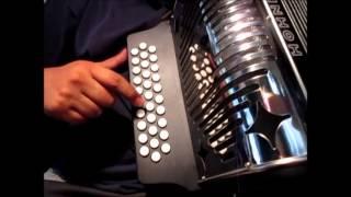 el gallo tuerto los pedernales tutorial facil acordeon sol principiante