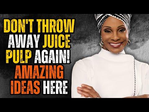 The Best Juice Pulp Recipe With Chef Babette Davis