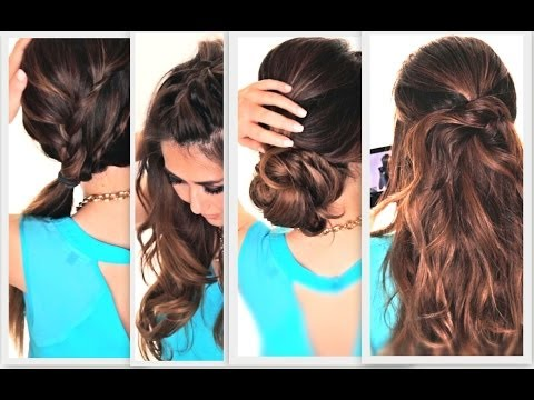 Easy Lazy Hairstyles