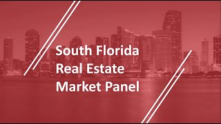 Real Estate Market Panel at The 2019 NAI Florida & Caribbean Forum