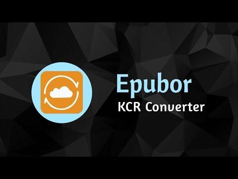 Epubor KCR Converter - Easy And Powerful Kindle EBooks Extractor