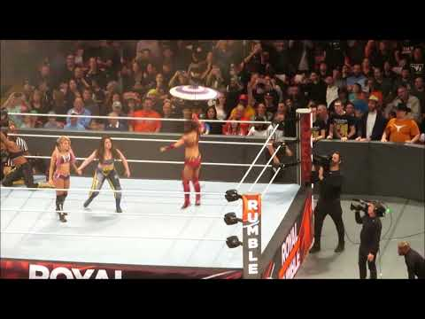 Entrances for All 30 Women of Royal Rumble