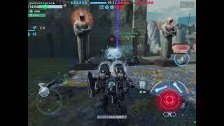 【WarRobots】DaAT vs ZEN in castle【分隊戦】