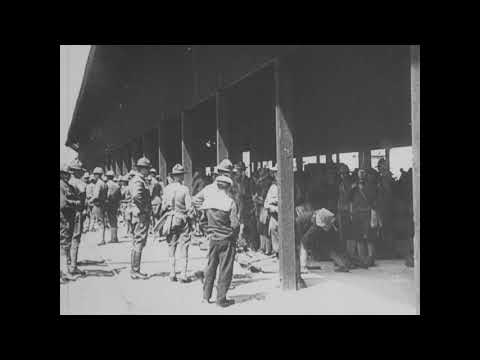 Base Section No. 1 (St. Nazaire), Arrival and Unloading of Troops [1917]