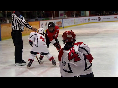 Mega Ice Hockey 5'S 2017 Mini Squirt (U9) Canstar Rangers VS Singapore Ice Dragons
