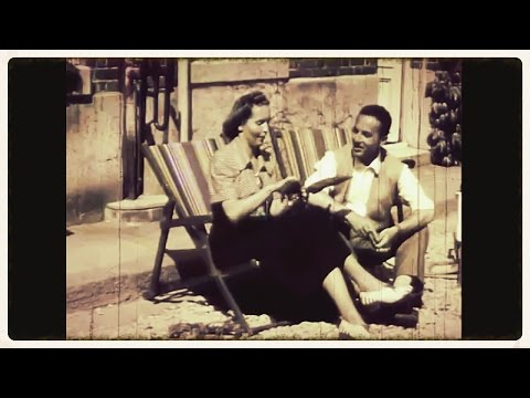 Historical Video - Switzerland, France and Rome 1945 ✔