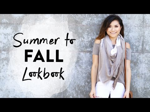 6f4a919d215 Summer To Fall Transitional Lookbook Early Fall Outfits Fall Fashion 2016  Miss Louie