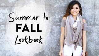 Summer to Fall Transitional Lookbook | Early Fall Outfits | Fall Fashion 2016 | Miss Louie