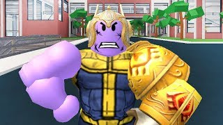 THE 3 TYPES OF THANOS IN ROBLOX
