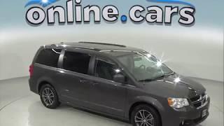oA97521TA 2017 Dodge Grand Caravan Passenger Mini Van Gray Test Drive, Review, For Sale