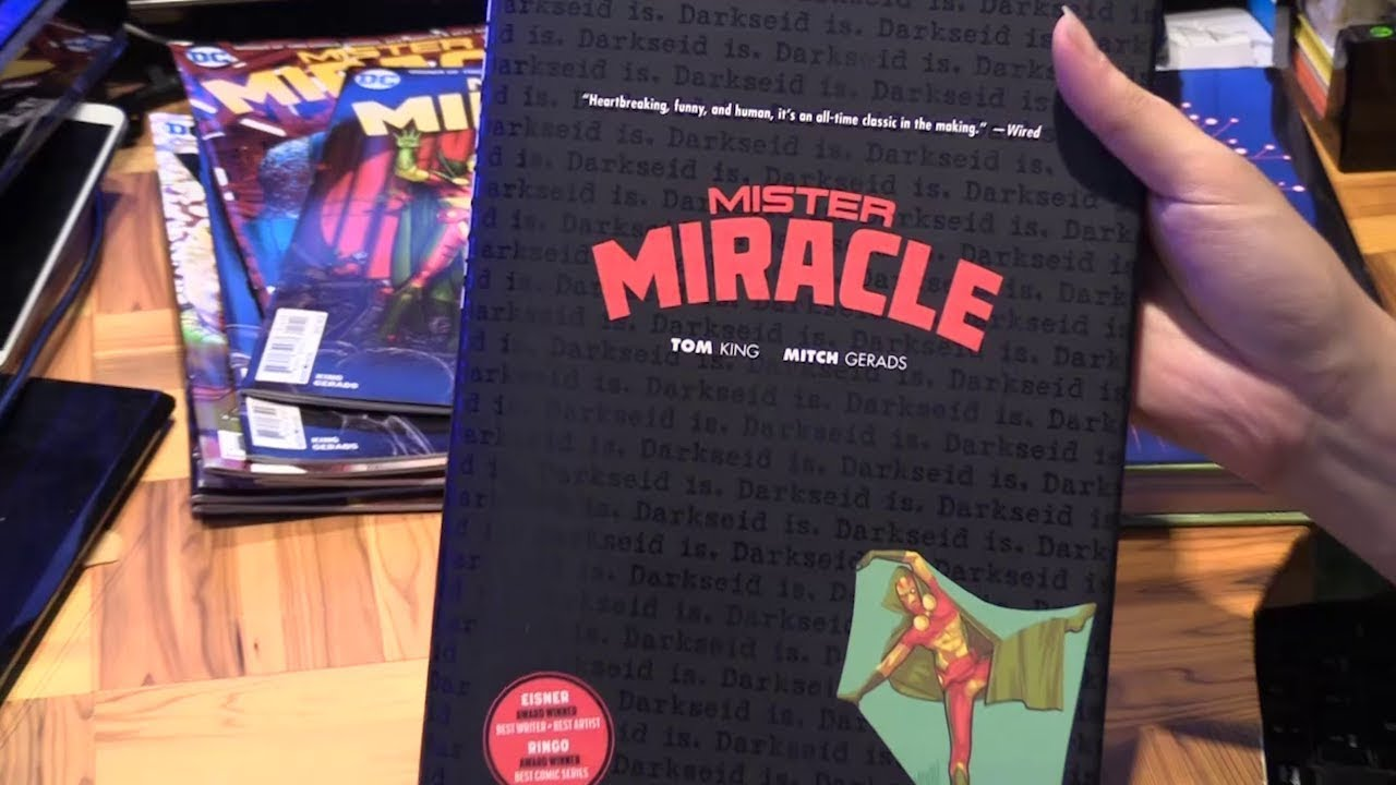 16c2a3c2 Mister Miracle Hardcover
