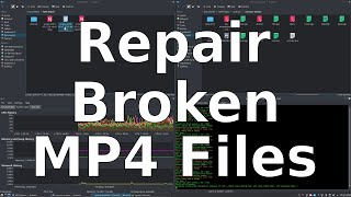 Fixing a Truncated MP4 File