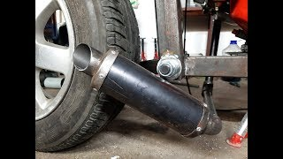 Homemade Exhaust MUFFLER Motorcycle For 5$ Motorcycle  ?