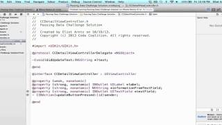 iOS Programming Tutorial - Use of UITextField Delegation Part 1 - 34