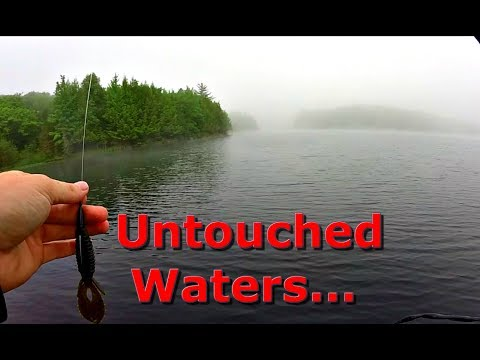 Fishing Remote Lake DEEP In The Woods Of Northern Wisconsin