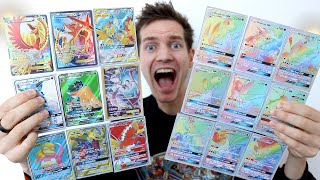 I PULL *19 FULL ART* POKÉMON CARDS IN 1 VIDEO!!!!!