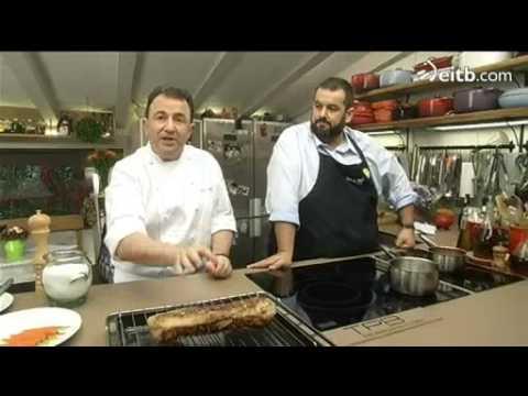 David de jorge cocina cerdo asado con pur de manzana y for La cocina de david de jorge