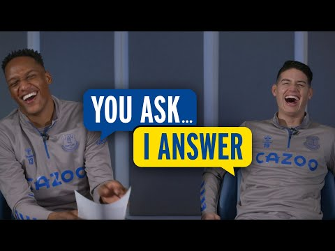 JAMES RODRIGUEZ + YERRY MINA: YOU ASK, I ANSWER! | COLOMBIA DUO TAKE ON RANDOM QUESTIONS