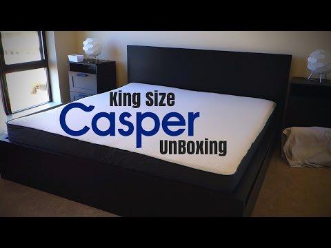 CASPER MATTRESS UNBOXING | KING SIZE | $75 Promo Code!