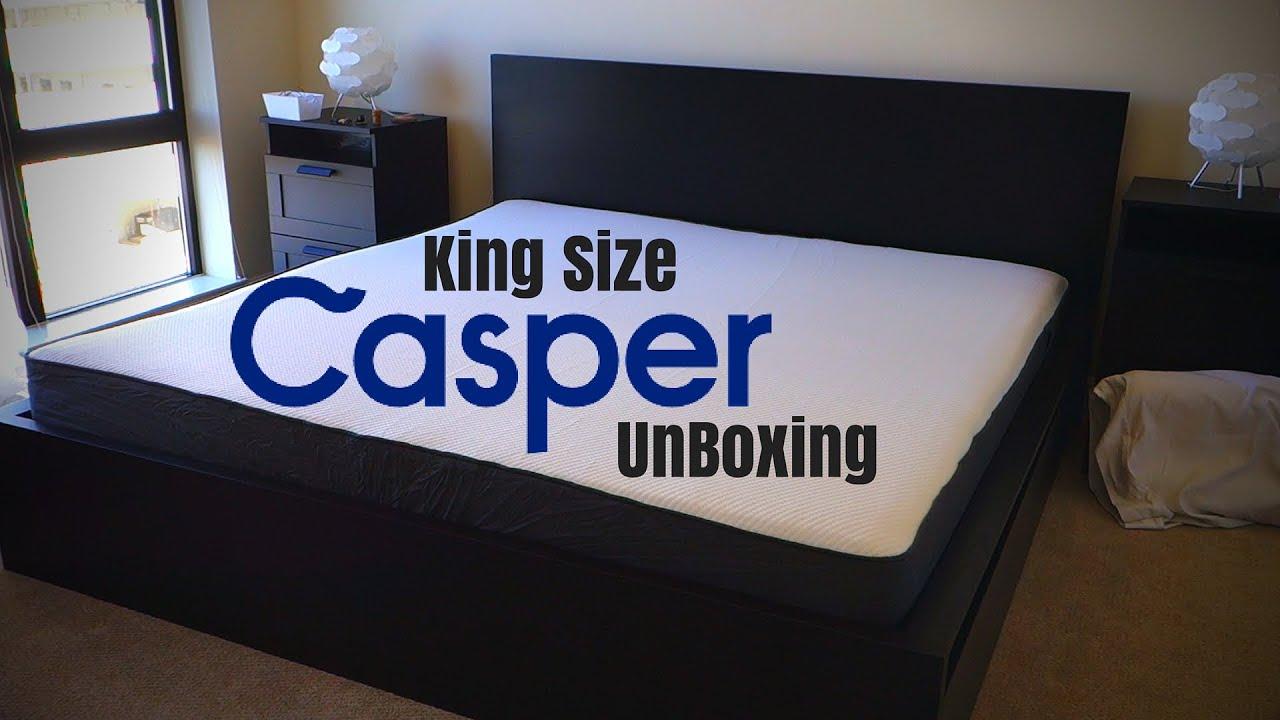 Casper Mattress Unboxing King Size 75 Promo Code