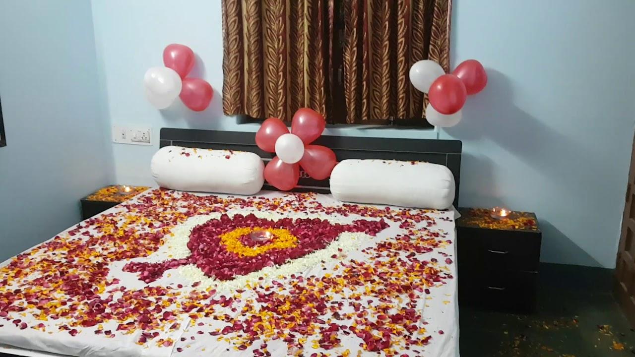 1st Night Room Decoration