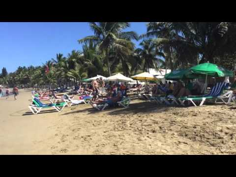 A relaxing video of Cabarete Beach Dominican Republic