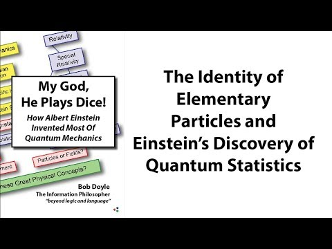 The Identity of  Elementary Particles and  Einstein's Discovery of Quantum Statistics