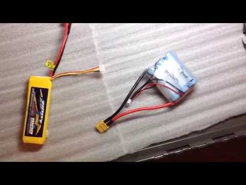 Samsung INR18650-25R 3S1P Battery Pack - Quadcopter Flight Test