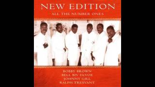 New Edition can you stand the rain under the lamppost remix
