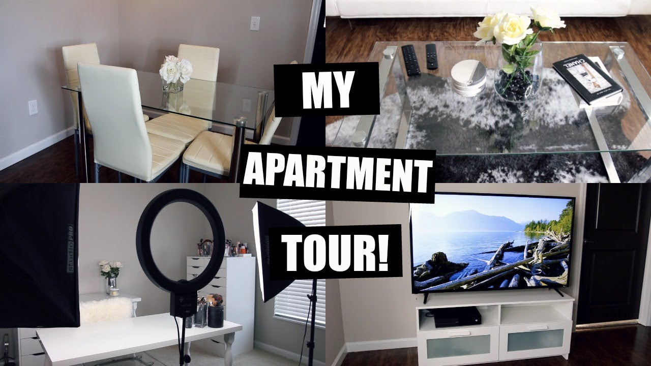 APARTMENT TOUR! MY FIRST APARTMENT ♡ - YouTube