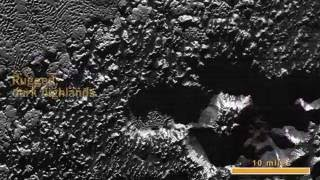 New Horizons' Extreme Close-Up of Pluto's Surface (no audio)