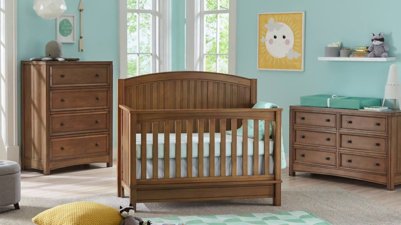 Bristol 4 In 1 Convertible Crib Baby Furniture Sets Kolcraft Baby