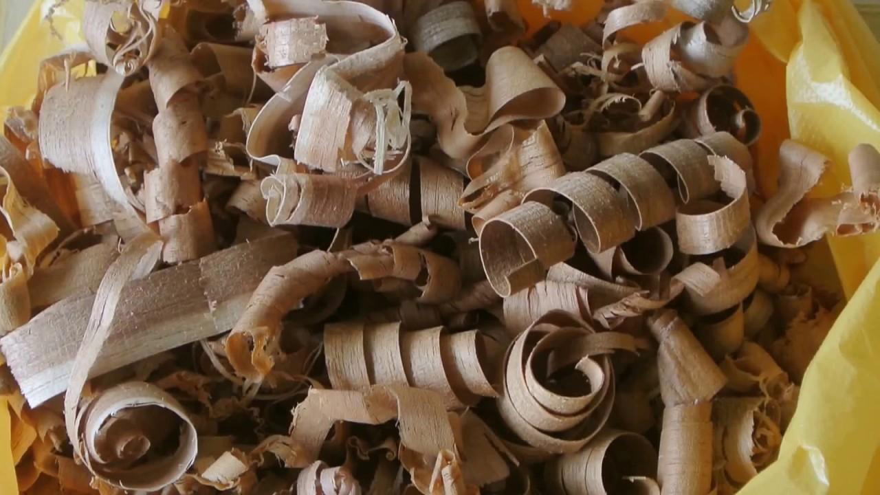 How to reuse wood shavings   Flower vase for home decor