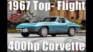 1967 Corvette NCRS Top-Flight 400HP Tri-Power Test Drive [HD] - Bullet Motorsports Inc