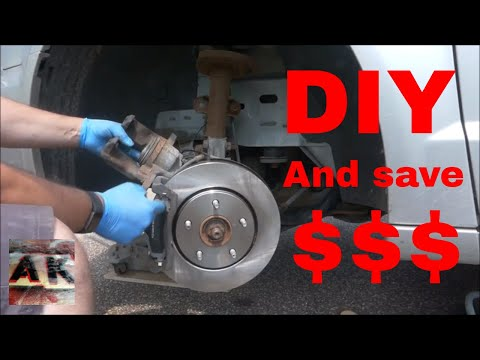 How To Replace Front Disc Brakes on a 2011 Chrysler Town and Country DIY Auto Repair