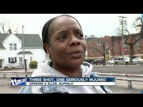 Three people shot on Buffalo's Eastside