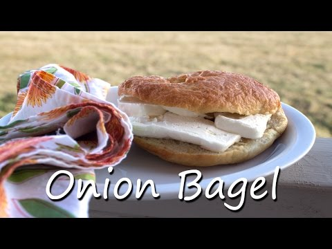 Simple Homemade Onion Bagel Recipe - CMColeman Home