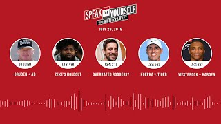 SPEAK FOR YOURSELF Audio Podcast (7.29.19) with Marcellus Wiley, Jason Whitlock | SPEAK FOR YOURSELF